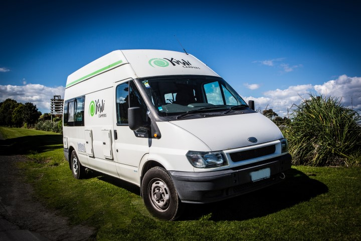 Camper van and motorhome rental in new zealand kiwi campers for Small motor homes for rent